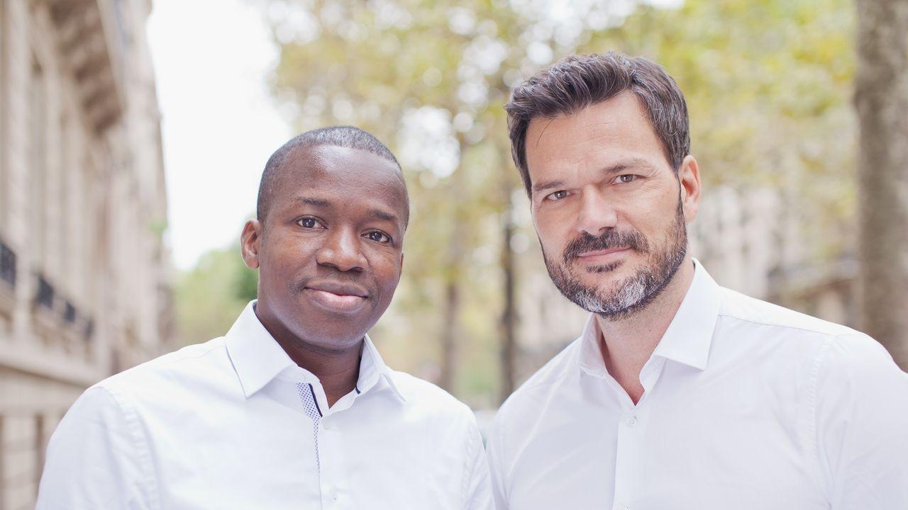 Tidjane Dème, Cyril Collon Partech Africa.jpg