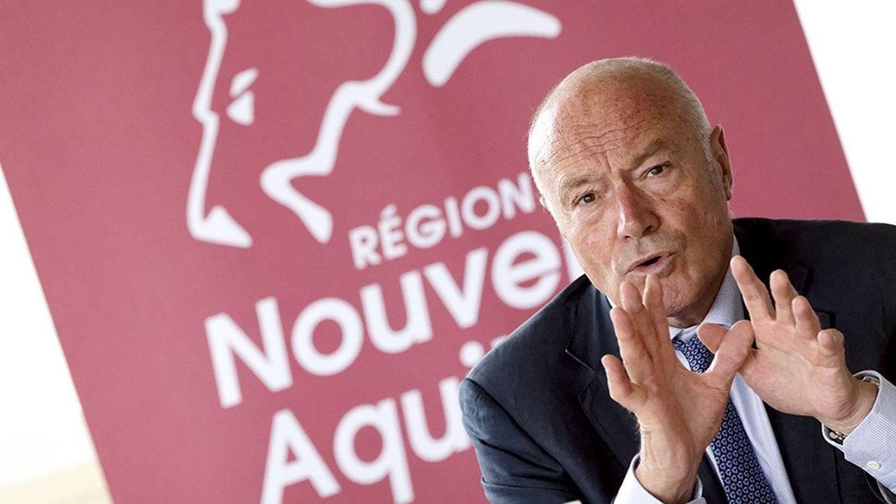 Alain Rousset, président du Conseil régional de Nouvelle-Aquitaine, est au CES pour deux jours.