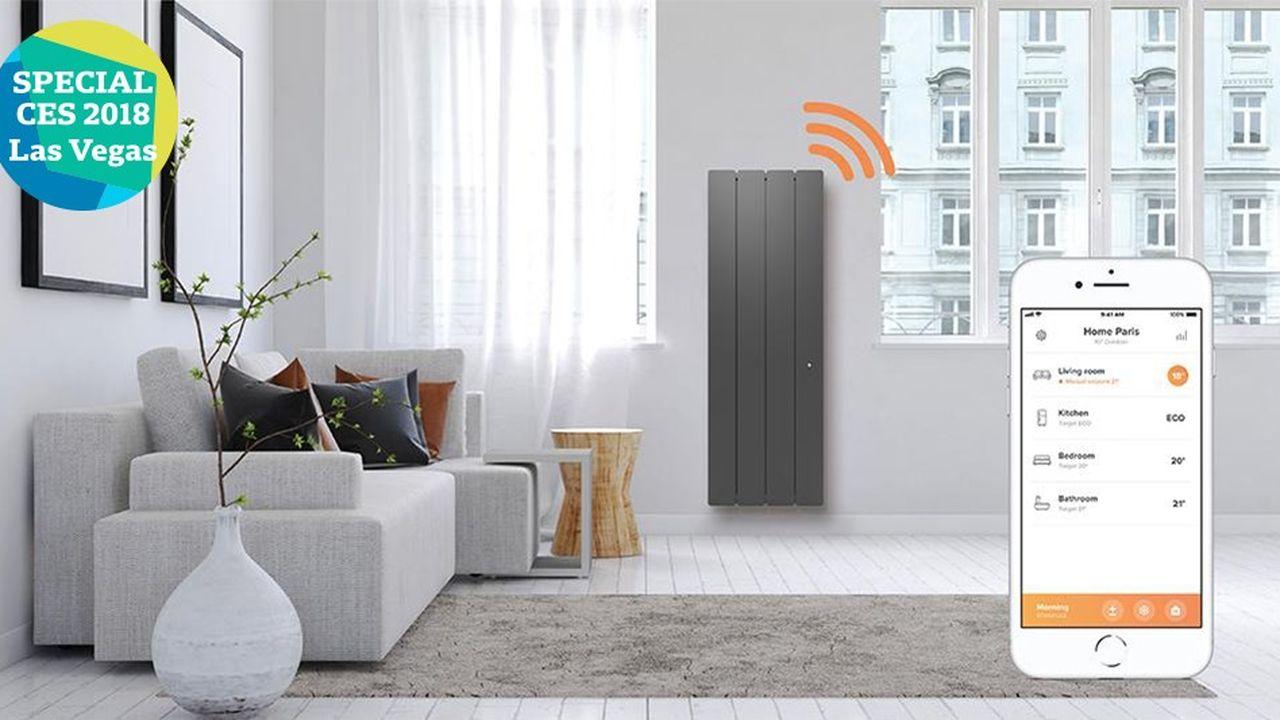 Netatmo présente un module connecté pour radiateur électrique, développé en partenariat avec le groupe Muller.