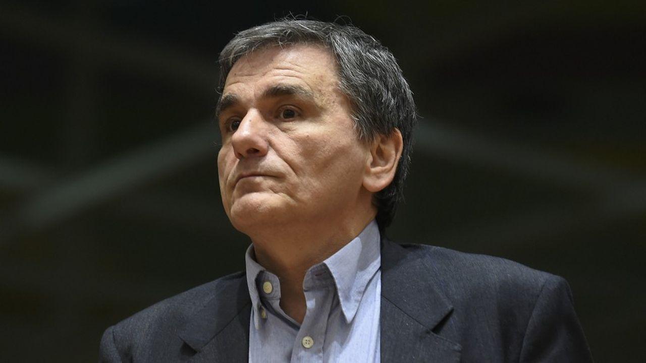 Euclide Tsakalotos est le ministre grec des Financesdepuis septembre2015.