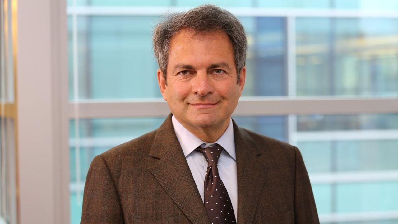 Michel Vounatsos, directeur général de Biogen.