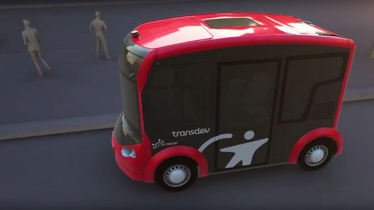 I-Cristal, la navette électrique totalement autonome bientôt sur le marché