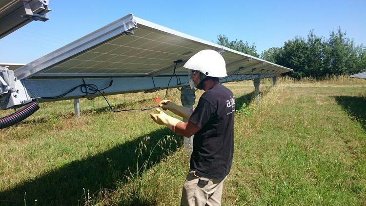 Quand le numérique diminue les coûts de gestion des parcs photovoltaïques