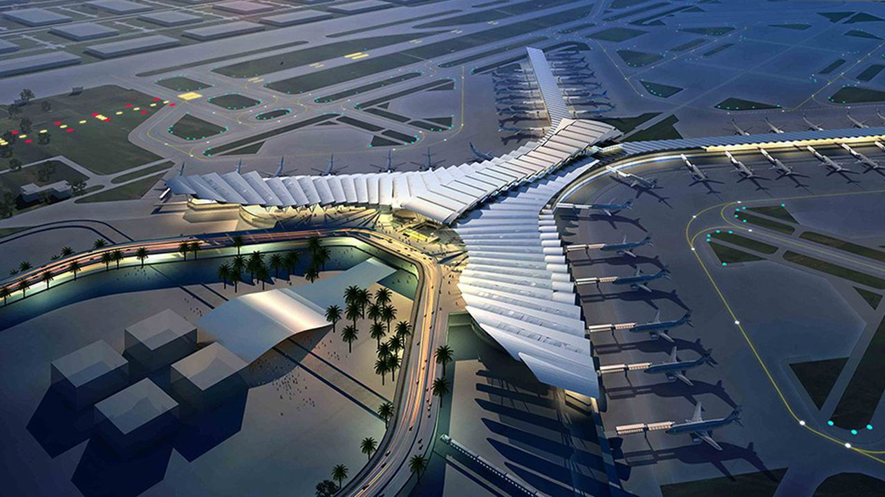 Projet d'aéroport de Djeddah.