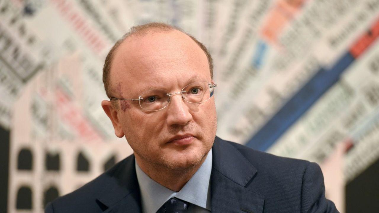 Vincenzo Boccia est le président de Confindustria, le patronat italien depuis avril2016