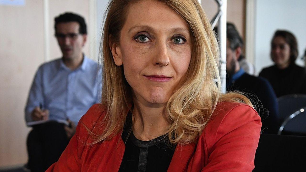 Sibyle Veilest la nouvelle présidente de Radio France/AFP PHOTO/BERTRAND GUAY
