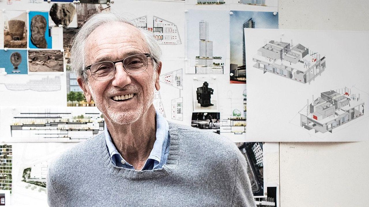 Renzo Piano a construit 5 bâtiments à Paris, dont le Centre Pompidou et le palais de justice, deux symboles de la modernité et deux manières d'incarner la puissance publique, d'un côté la culture, de l'autre la justice dans des bâtiments qui se veulent accueillants et rassurants.