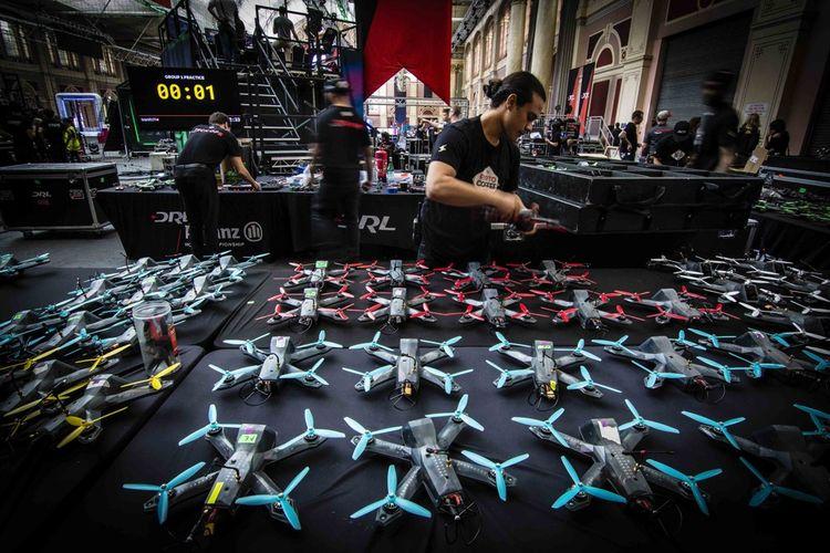 L'Allianz Riviera de Nice accueillera le tout premier grand prix de course de drone, ou FPV Racing.