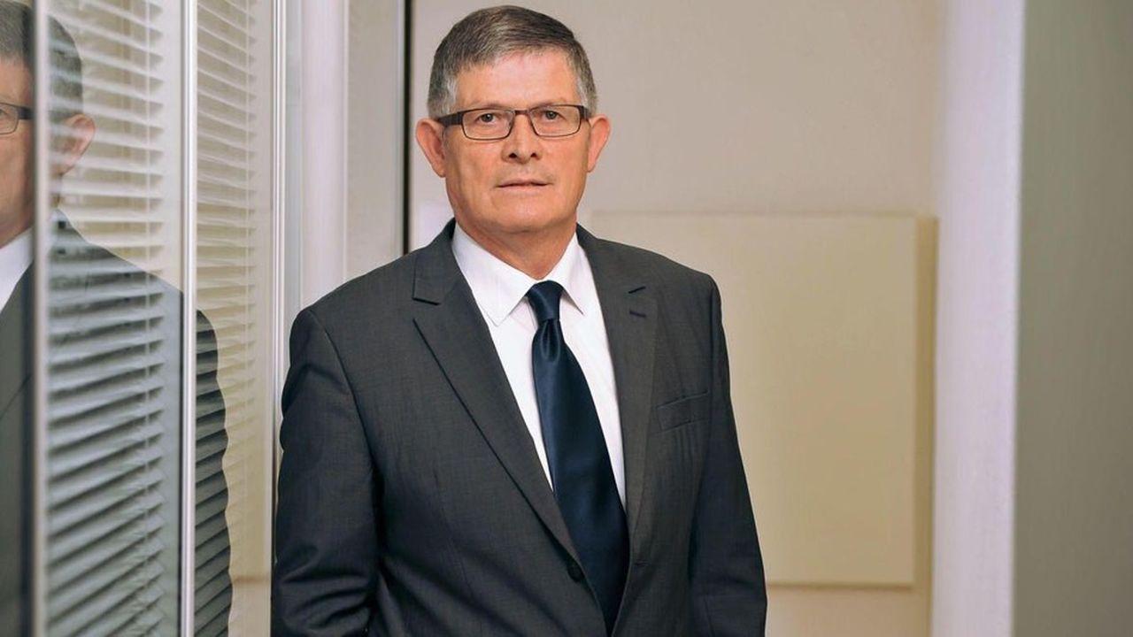 Bernard Morvan, président de la Fédération nationale de l'habillement.