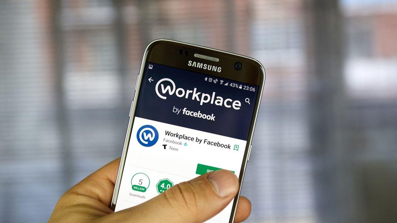 Pour trois dollars par mois et par utilisateur, les sociétés ont accès à un service Facebook leur permettant de connecter toutes leurs équipes et de les faire collaborer par posts, chats, discussions vidéos...
