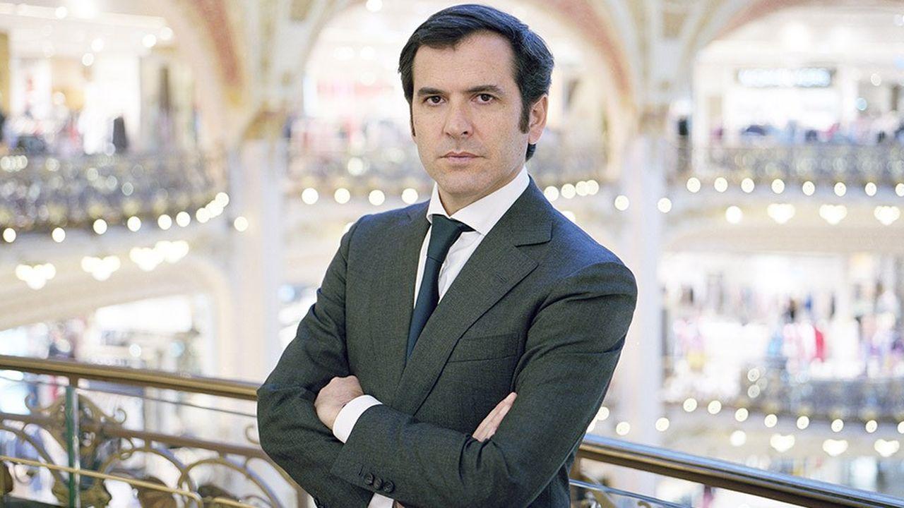 Directeur général des Galeries Lafayette et du BHV Marais, Nicolas Houzé revient sur les ambitions et la stratégie de ce groupe familial.