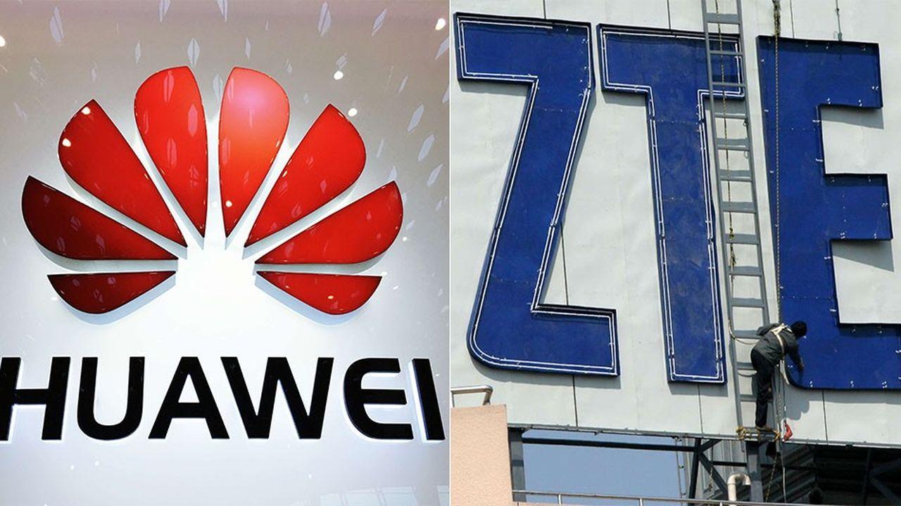 Huawei, le numéro un mondial des équipements télécoms, et son rival ZTE, sont dans le collimateur de Washington qui les accusent de menacer la sécurité nationale des Etats-Unis. Les deux groupes sont nés dans les années 1980 et sont basés à Shenzhen, au sud de la Chine.
