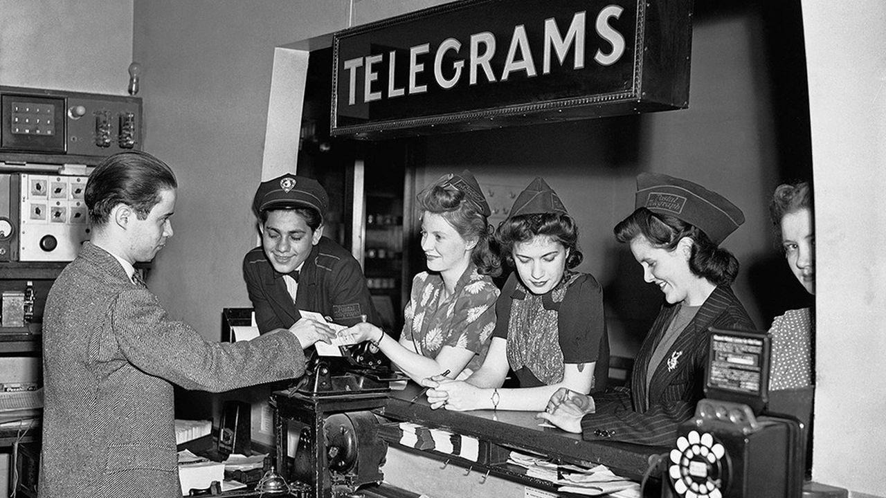 Les technologies modernes ont accéléré le déclin du télégramme ces dernières années. Aux Etats-Unis, Western Union a annoncé la fin de son service en 2006.