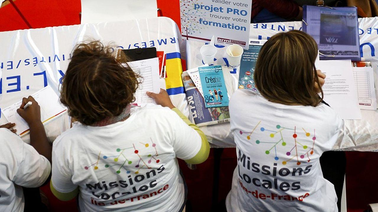 Les missions locales accueillent chaque année un nombre toujours important de jeunes en difficulté.