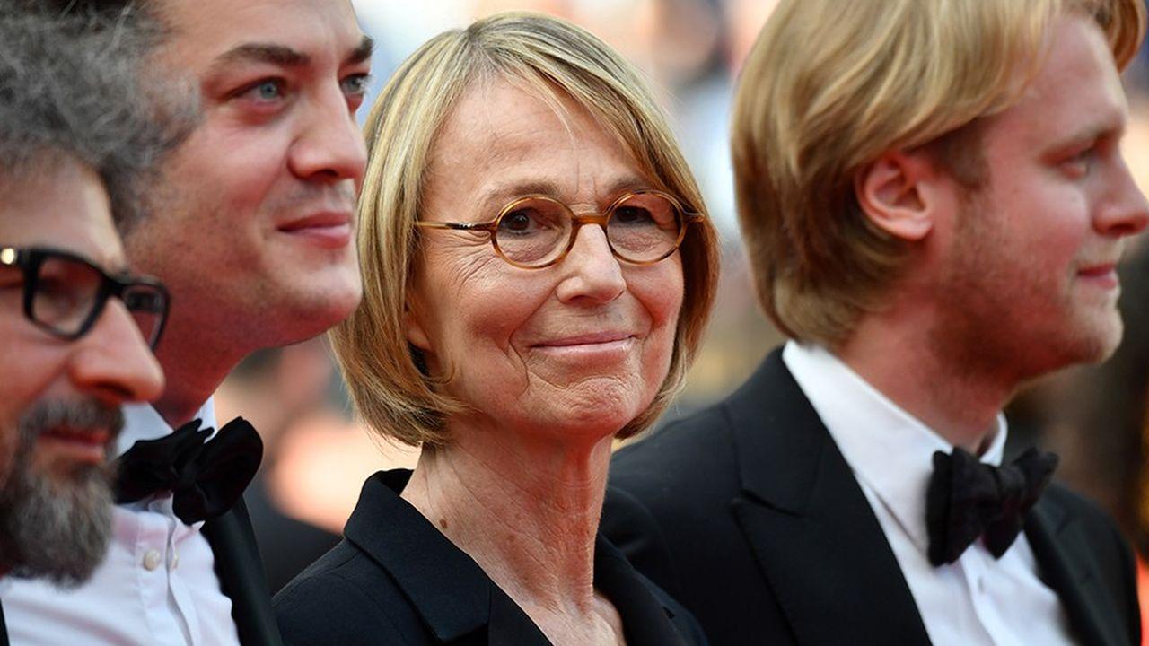 La ministre de la Culture Françoise Nyssen au Festival de Cannes.
