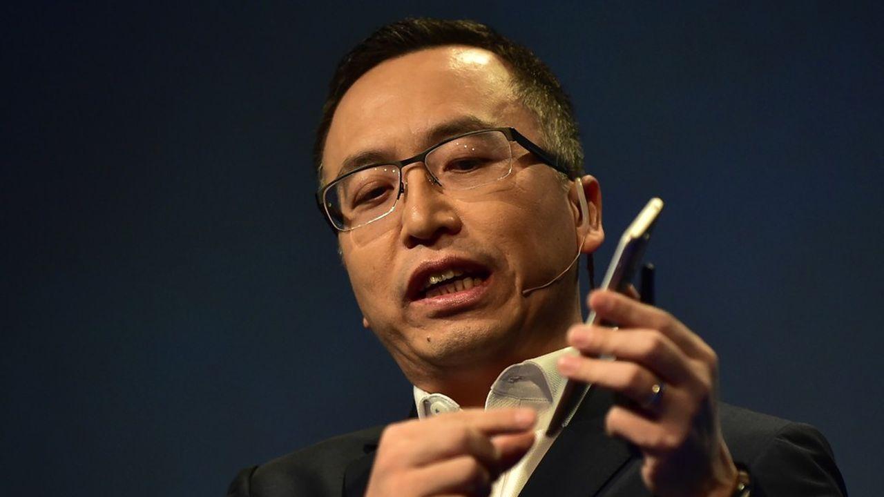 George Zhao est le PDG de Honor, une filiale du géant Huawei qui construit des smartphones à destination des 18-35 ans.
