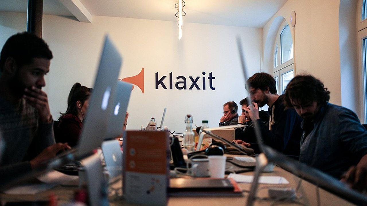 La start-up Klaxit, plate-forme de covoiturage de courte distance.