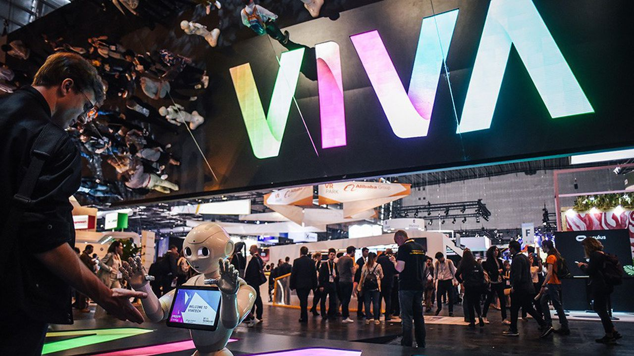 La troisième édition du Salon Viva Technology a rassemblé 100.500personnes à la Porte de Versailles durant trois jours.