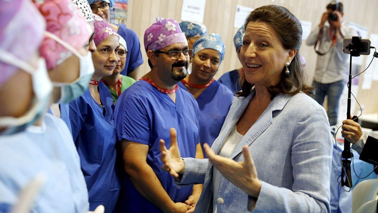 La ministre de la Santé, Agnès Buzyn, a promis de transposer l'accord conventionnel télémédecine à l'hôpital.