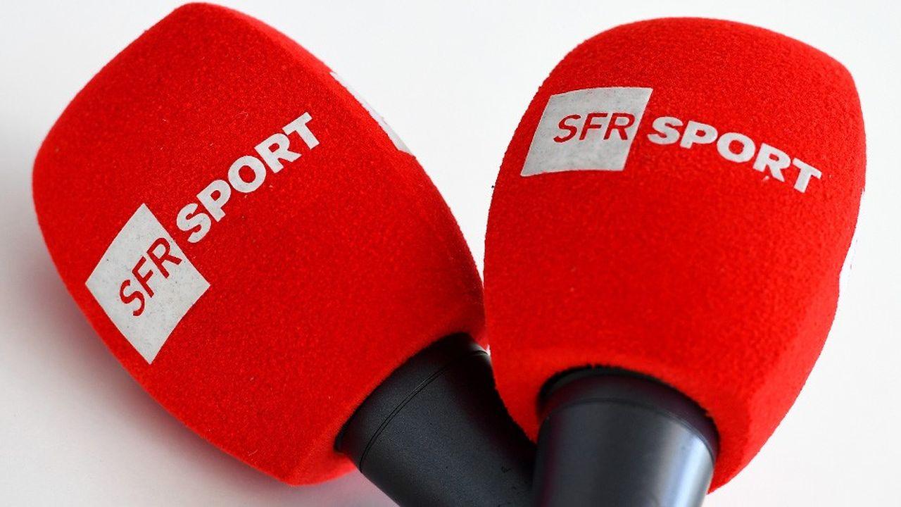 SFR Sport va changer de nom et devenir RMC Sport, pour pouvoir être repris dans l'offre des autres opérateurs télécoms. Le bouquet comprend 5 chaînes de télévision payantes entièrement dédiées au sport.