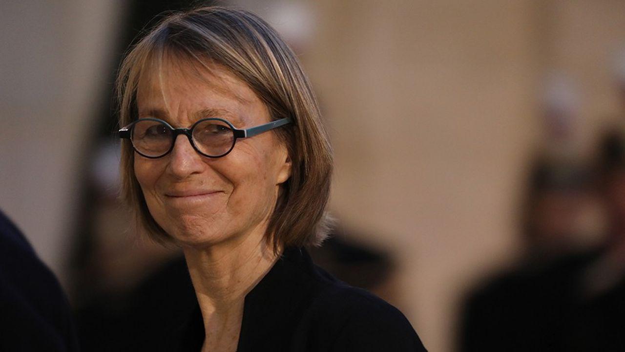 La ministre de la culture Françoise Nyssen a présenté sa réforme sans donner de chiffrage des économies./AFP PHOTO/Ludovic MARIN