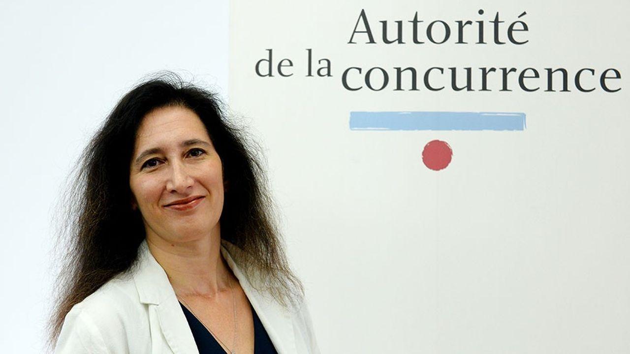 La présidente de l'Autorité de la concurrence, Isabelle de Silva, présente ce jeudi ses propositions pour simplifier le contrôle des concentrations.