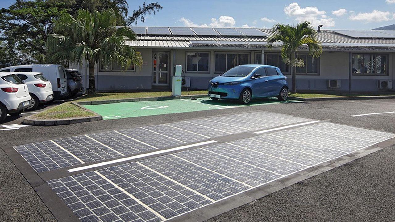 La route solaire Wattway.
