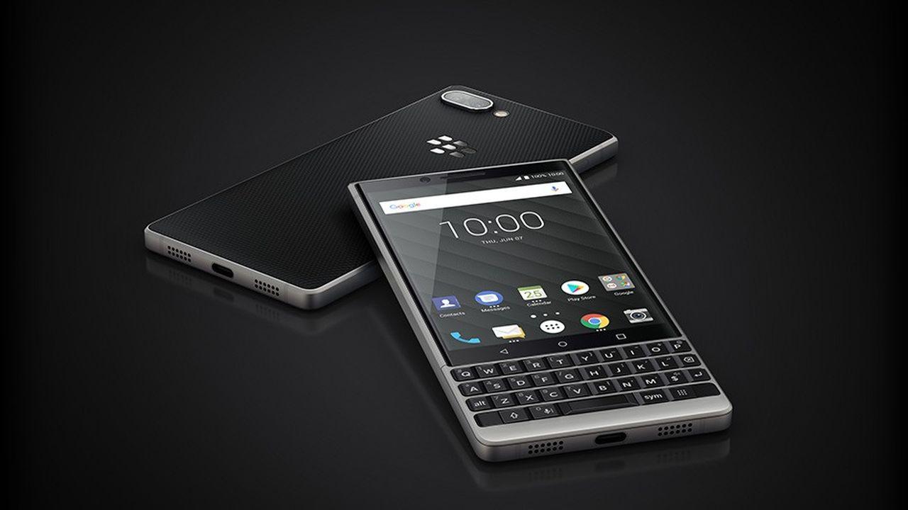 Avec son Key2, BlackBerry joue sur la nostalgie de ses anciens acheteurs tout en ajoutant du tactile.