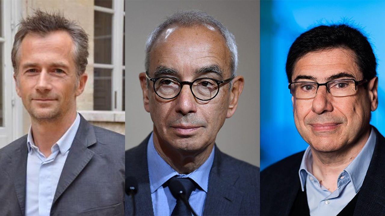 Philippe Martin, Jean Pisani-Ferry et Philippe Aghion, trois économistes ayant participé à la campagne présidentielle d'Emmanuel Macron, ont rédigé une note au président pour réorienter la politique économique du quinquennat.