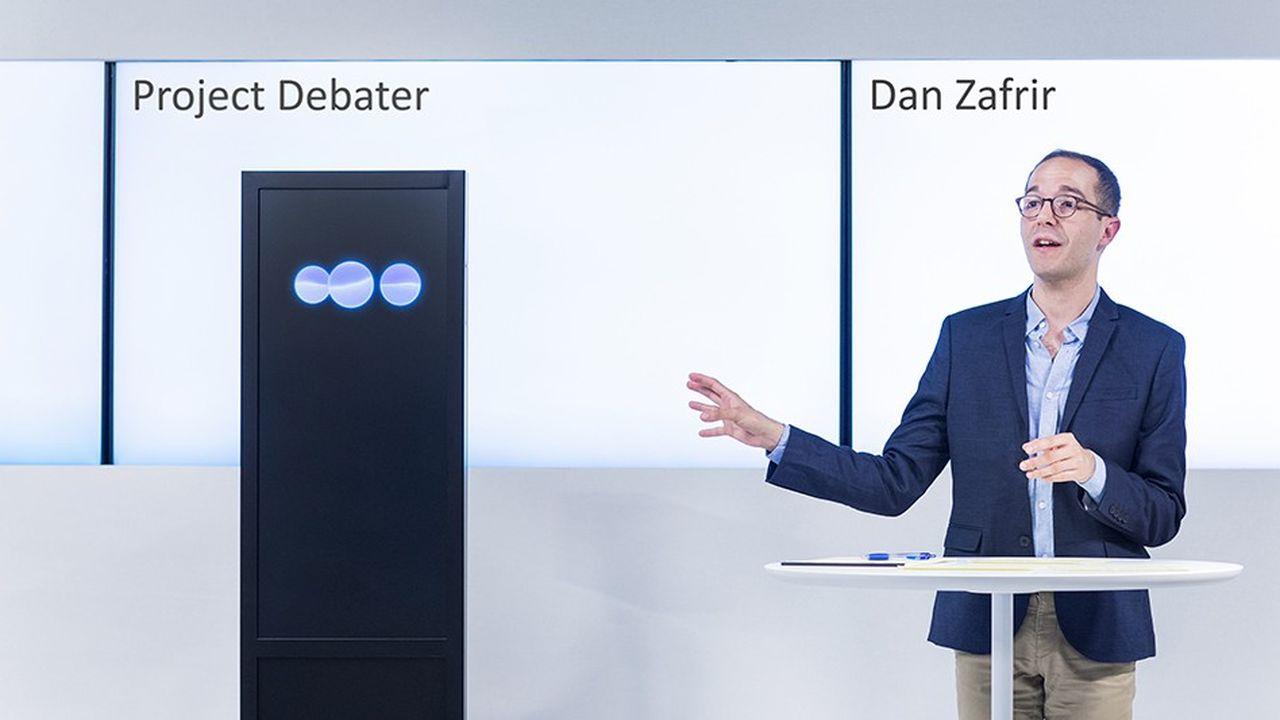 IBM dévoile une intelligence artificielle capable de débattre avec des humains