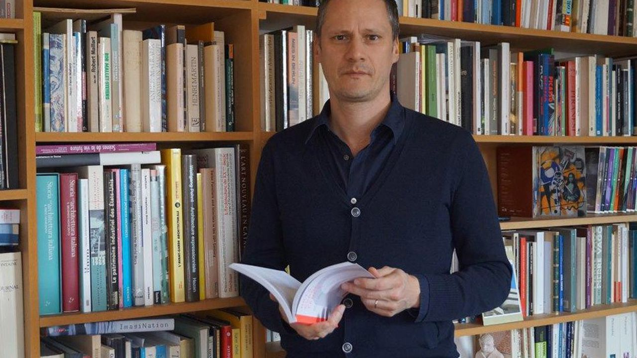 Simon Texier, historien de l'architecture.