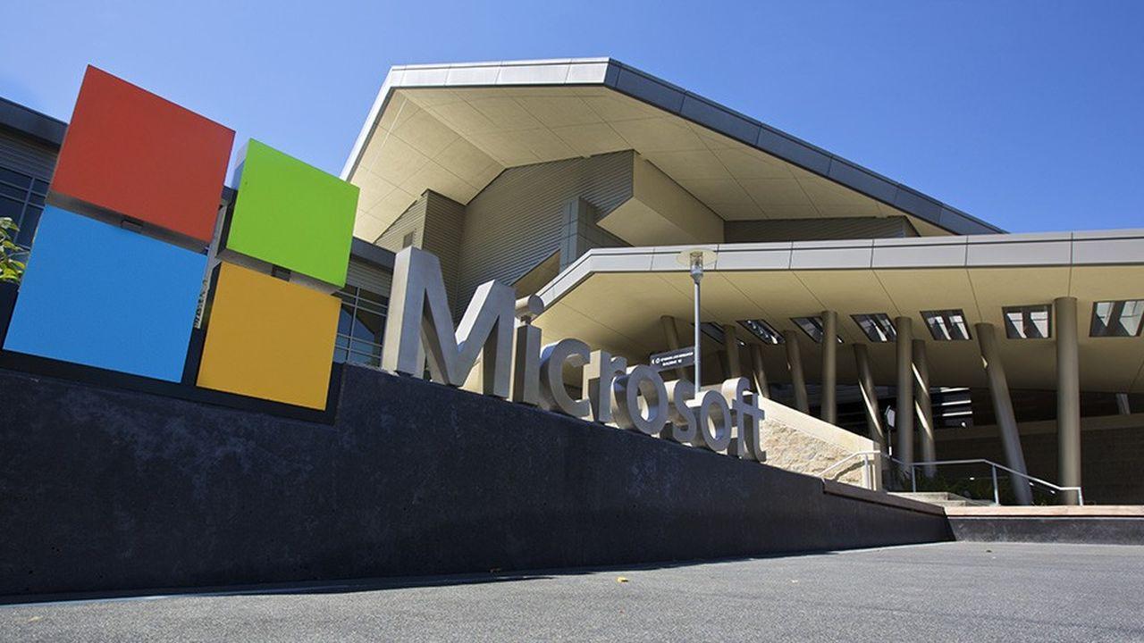 Le siège de Microsoft à Redmond (Washington).
