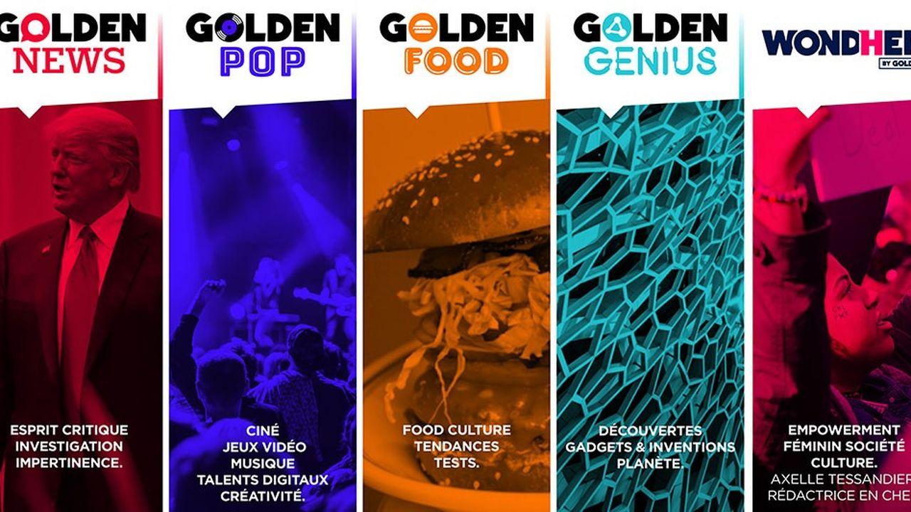Golden Network développe de nouvelles thématiques
