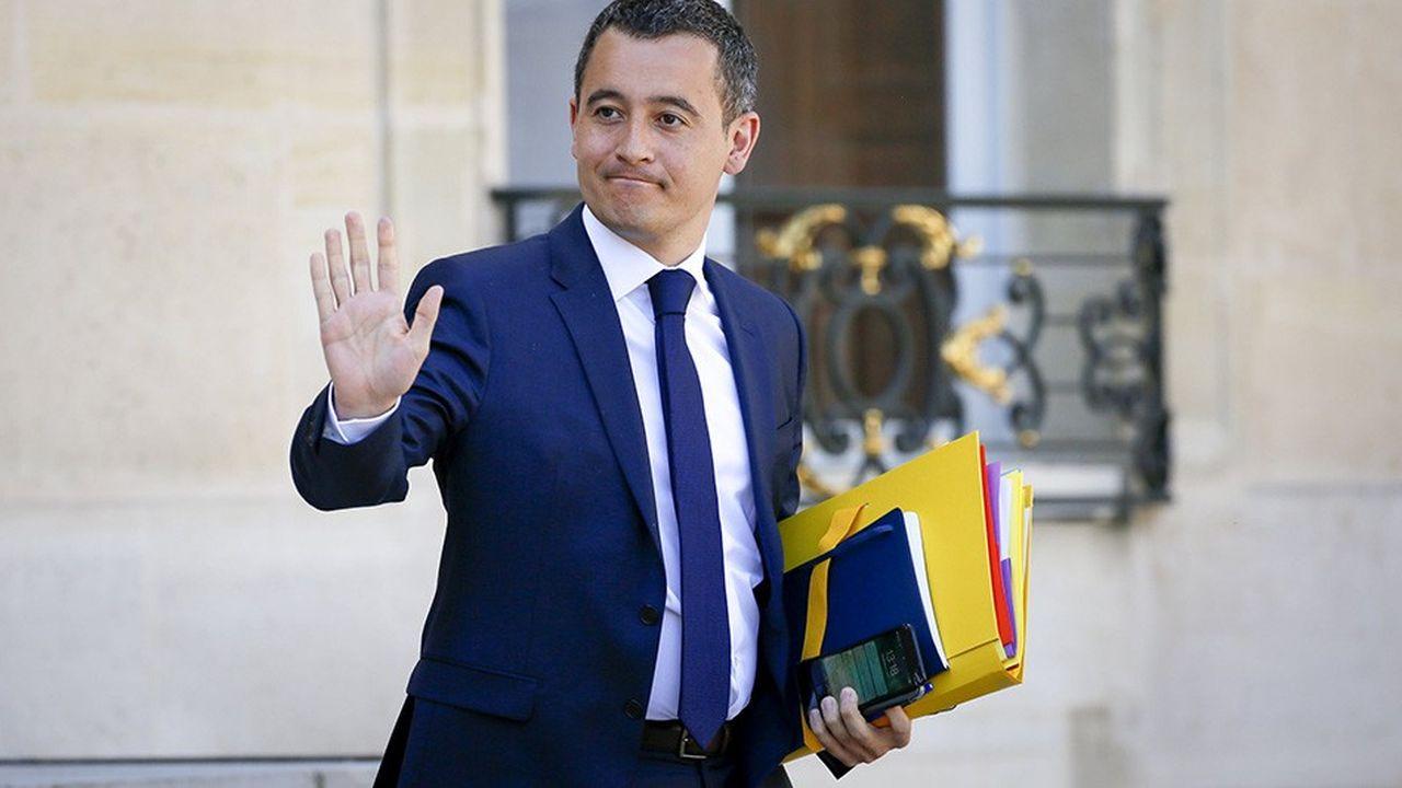 Gérald Darmanin, ministre de l'Action et des Comptes Public, prépare le débat d'orientation budgétaire qui se tiendra à partir du 10juillet à l'Assemblée nationale.