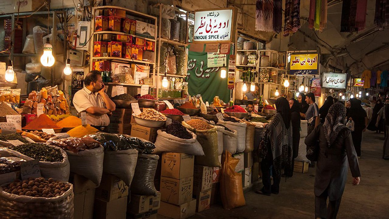 Les marchés de produits alimentaires en Iran sont secoués par la perspective du rétablissement des sanctions américaines, avec une flambée des prix.