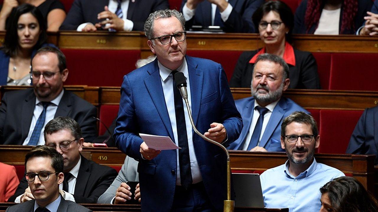 Richard Ferrand, président du groupe LREM à l'Assemblée lors d'une séance de questions d'actualité au gouvernement.