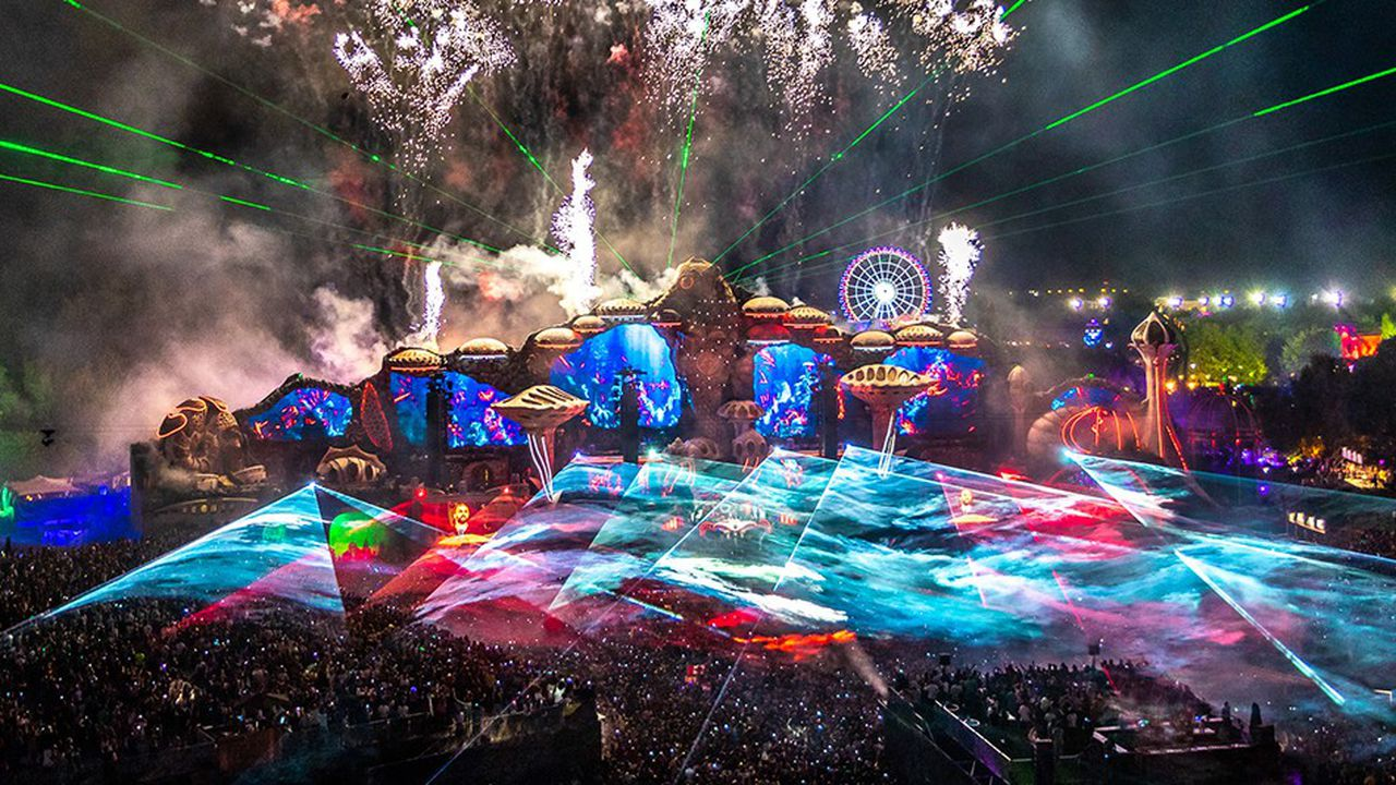 La scène principale de Tomorrowland en Belgique
