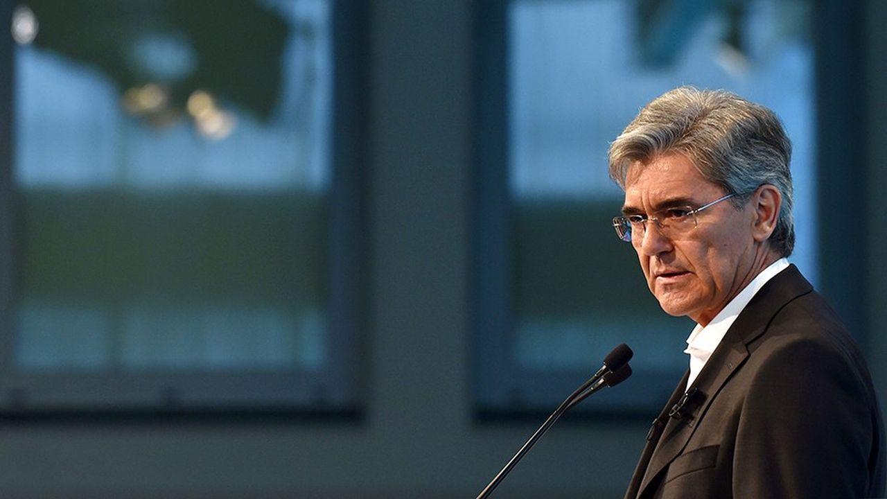 Le dirigeant de Siemens, Joe Kaeser, a présenté jeudi la nouvelle organisation du groupe dans le cadre de sa stratégie baptisée «Vision2020 +».