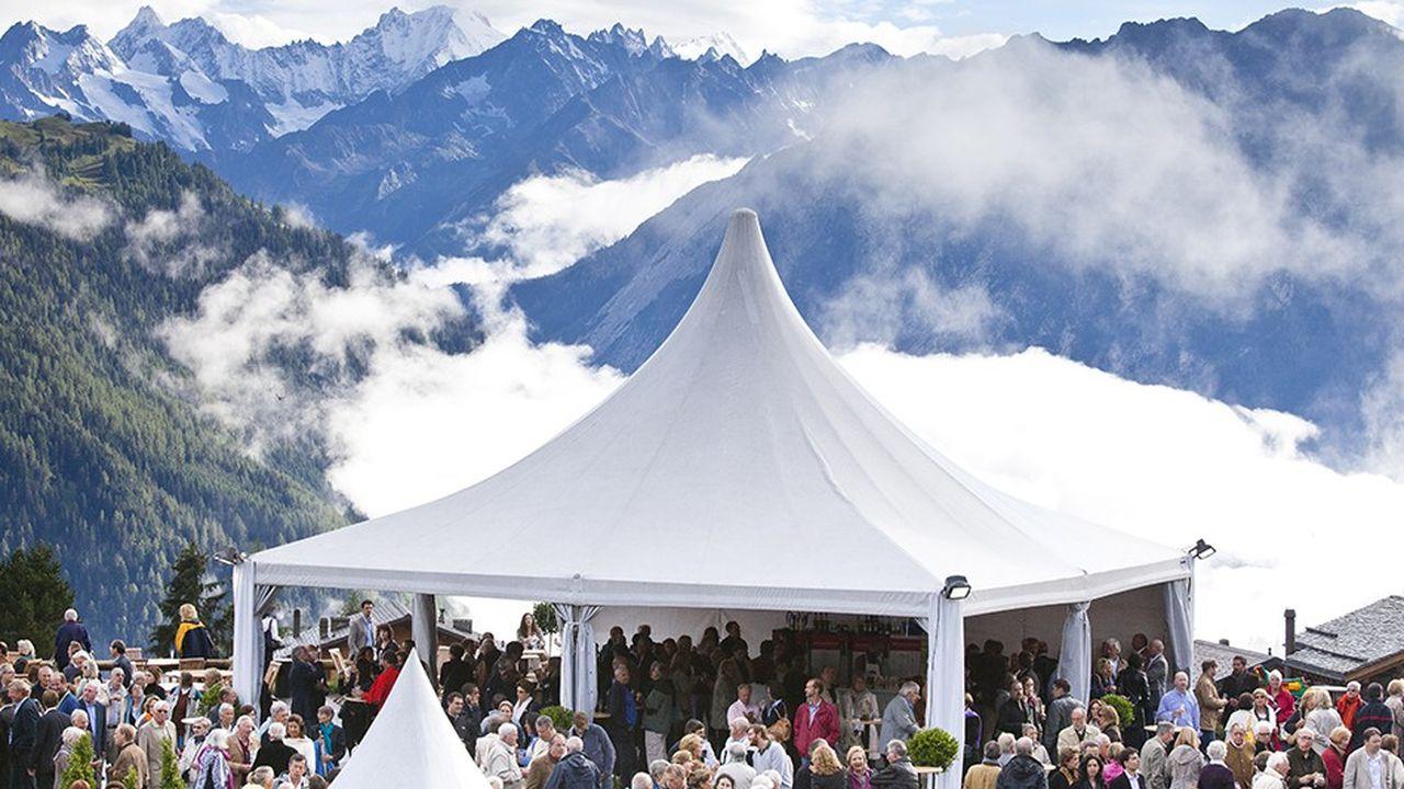 Verbier est l'une des stations, comme Les Arcs, qui a depuis longtemps misé sur la musique au sommet.