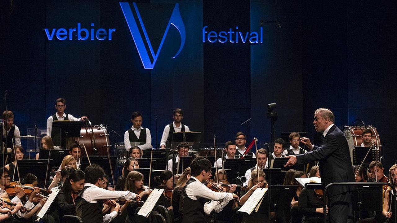 Valery Gergiev, directeur artistique du Verbier Festival