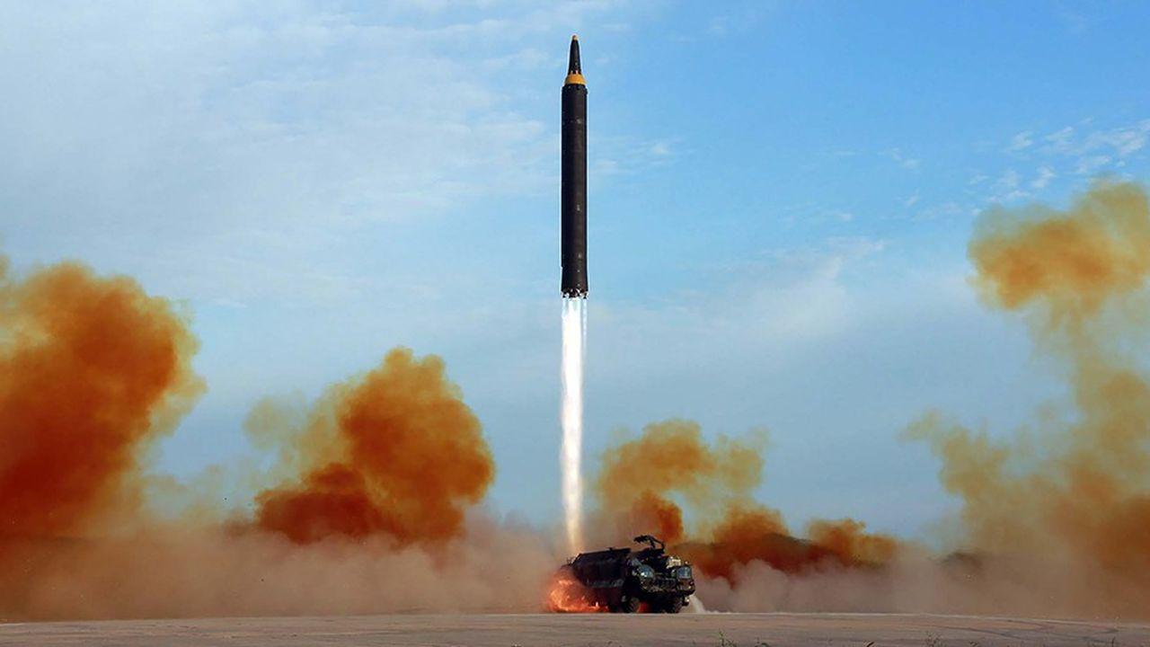 La Corée du Nord «n'a pas stoppé ses programmes nucléaire et balistique et a continué de défier les résolutions du Conseil de sécurité» dit le rapport de l'ONU.