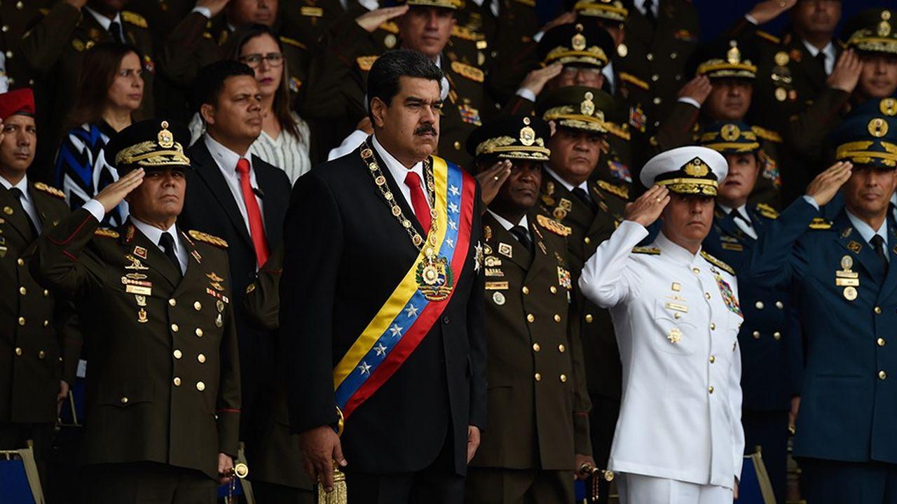 Nicolás Maduro a été réélu en mai, au terme d'un scrutin contesté par la communauté internationale. Son mandat court jusqu'en 2025