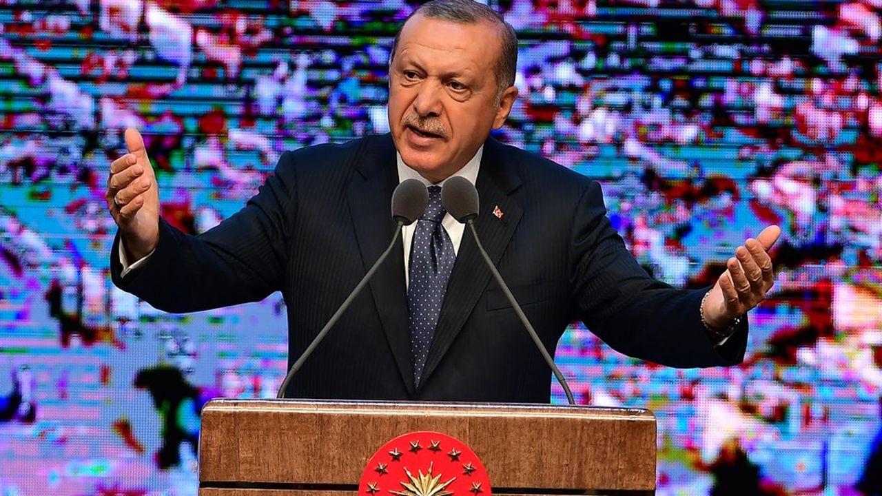 Le président turc Recep Tayyip Erdogan dit vouloir éviter que la dispute avec Washington ne dégénère.