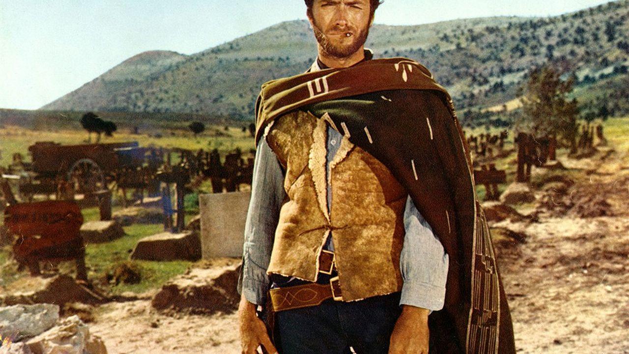Clint Eastwood dans le film de Sergio Leone «Le Bon, la Brute et le Truand», sorti en 1966.