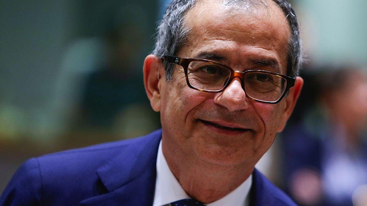 Le ministre italien de l'Economie est resté flou à dessein jusqu'ici sur les projets économiques du gouvernement