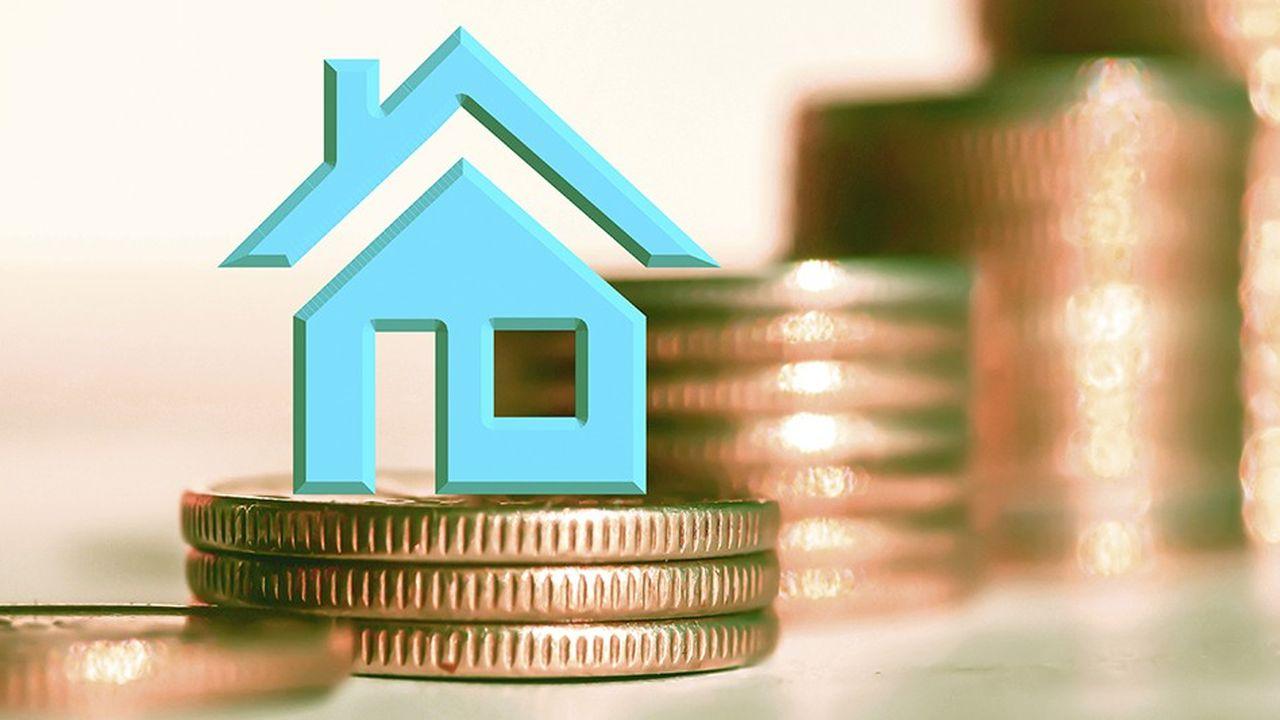 Depuis l'été dernier, les taux d'emprunt se replient de près de 1 point de base tous les mois, selon l'Observatoire Crédit Logement/CSA.