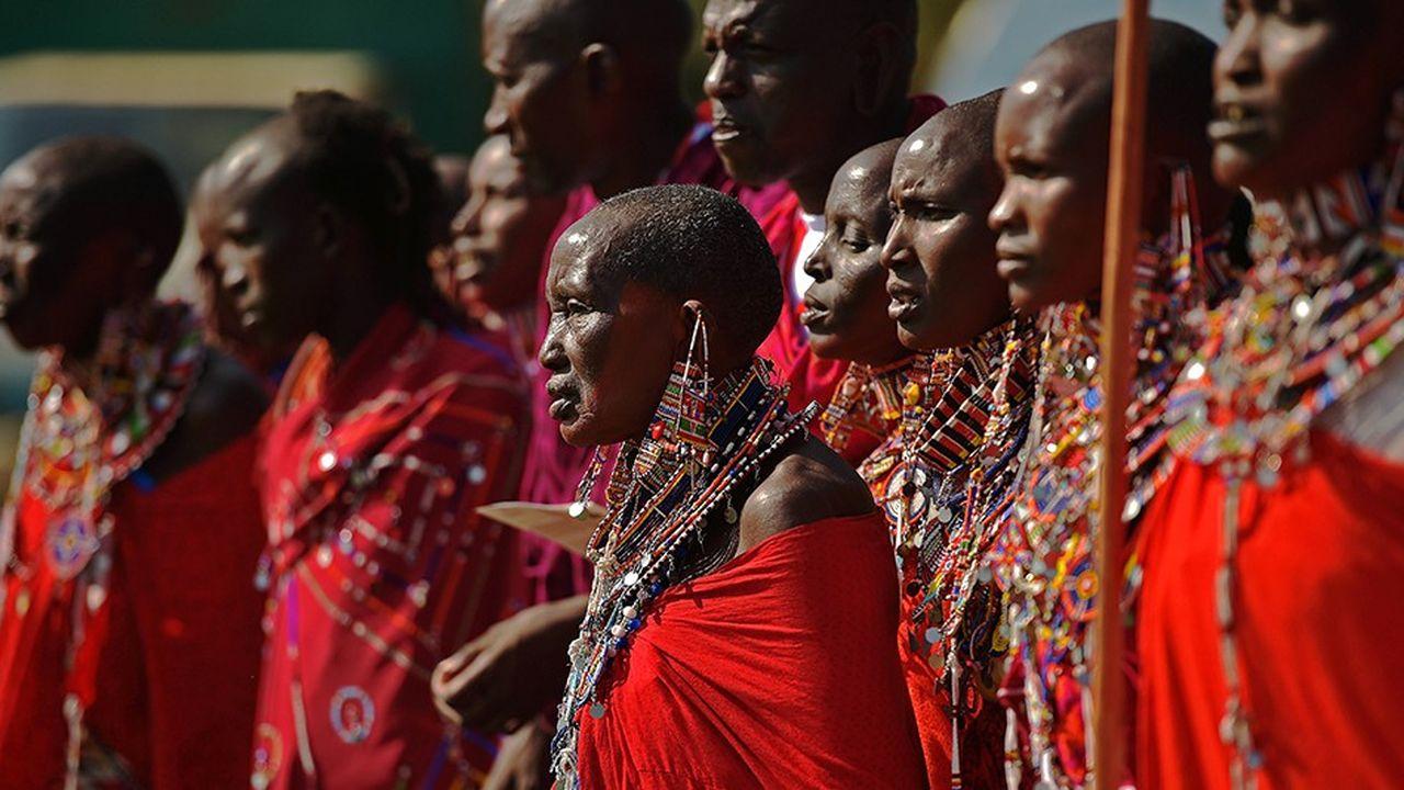 Des femmes Masai dans la région de Kimani