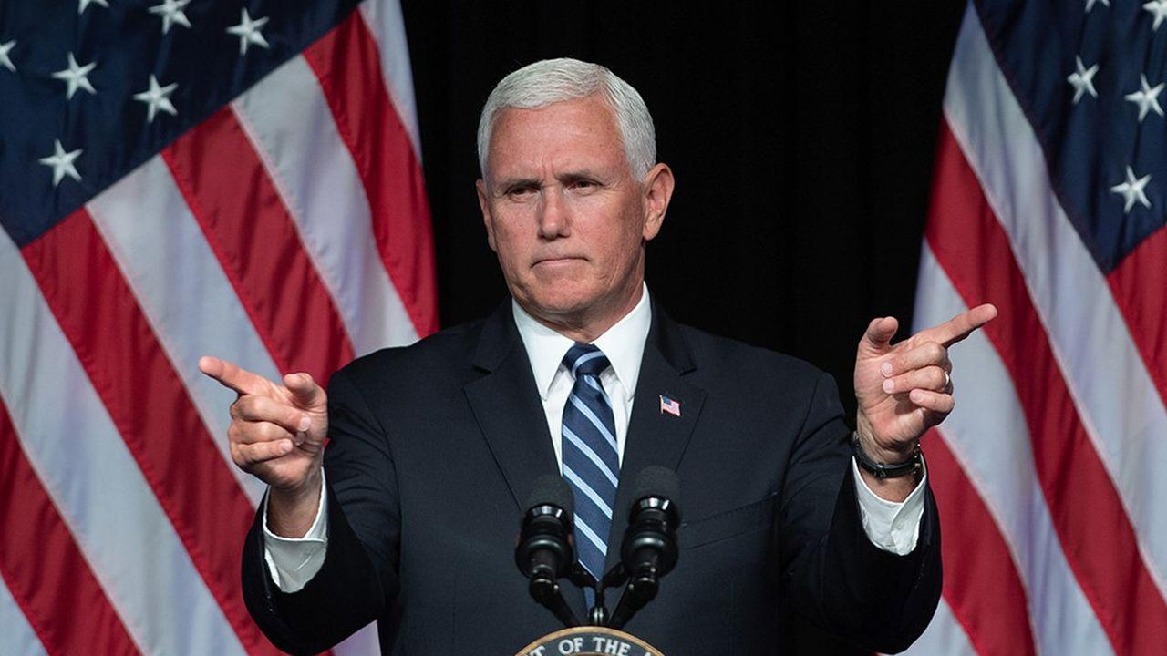 Le vice-président, Mike Pence, défend la création d'une nouvelle force armée de l'espace.