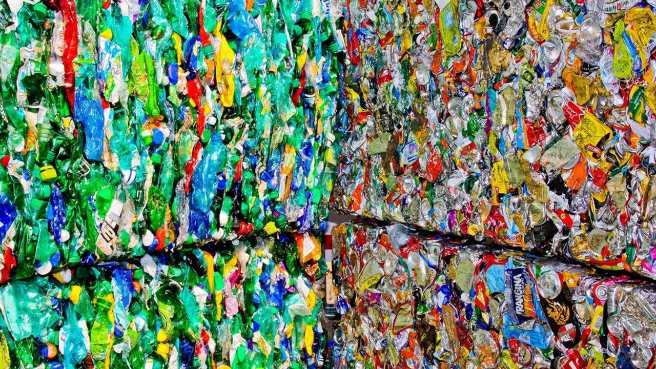 La France, mauvaise élève de l'Europe dans le recyclage des déchets plastiques.