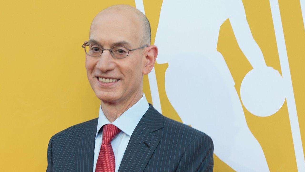 Adam Silver, le patron de la NBA.